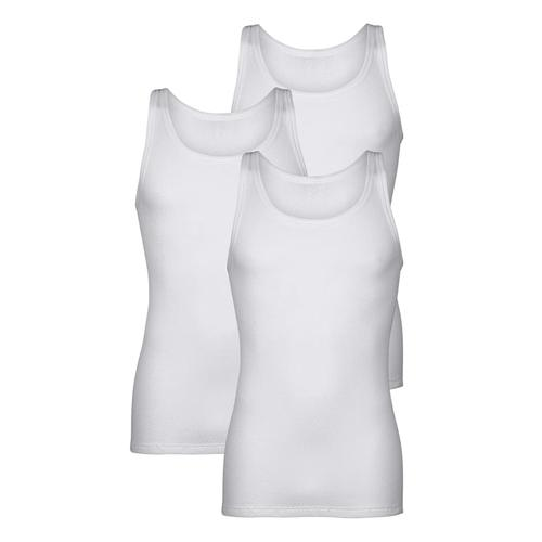 Unterhemden Pfeilring Weiß