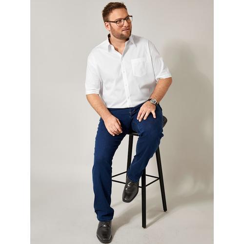 Spezialschnitt Hemd Men Plus Weiß