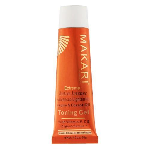 Makari Gel zur Hautaufhellung - 30ml Gel - Mit Karotte & Arganöl