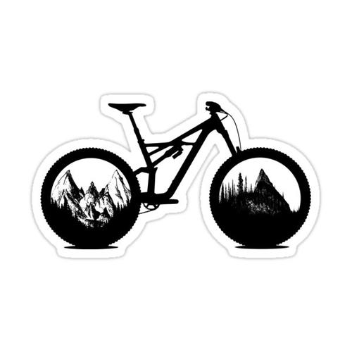 MTB Enduro Sticker