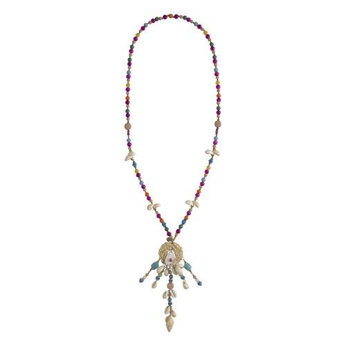 Kette in Longform blau Damen Halsketten Schmuck Ketten