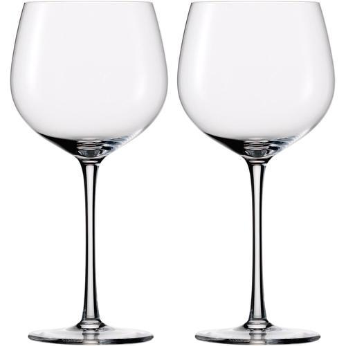 Eisch Rotweinglas Jeunesse, (Set, 2 tlg.), (Burgunderglas), Mundgeblasen, bleifrei, 600 ml, 2-teilig farblos Kristallgläser Gläser Glaswaren Haushaltswaren