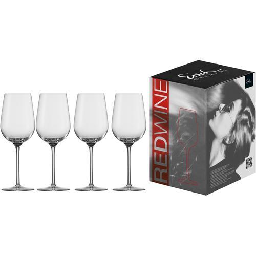 Eisch Rotweinglas Vinezza, (Set, 4 tlg.), bleifrei, 430 ml farblos Kristallgläser Gläser Glaswaren Haushaltswaren