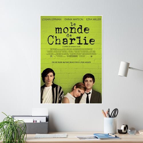 Le Monde De Charlie Affiche Poster