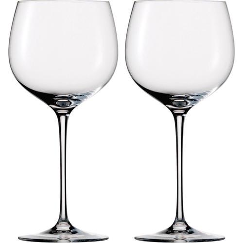 Eisch Rotweinglas Jeunesse, (Set, 2 tlg.), (Burgunderglas),bleifreies Kristallgals, 420 ml farblos Kristallgläser Gläser Glaswaren Haushaltswaren