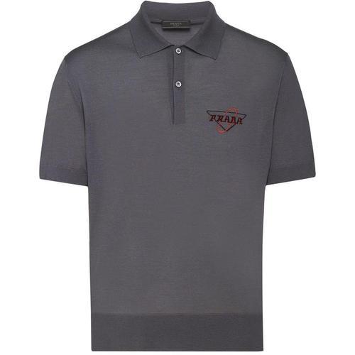 Prada Poloshirt aus Kammwolle