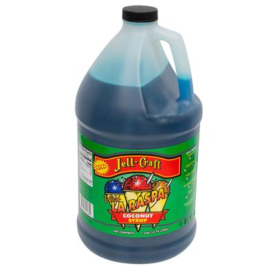 Jell-Craft 10184 1 gal Coconut Snowcone Syrup