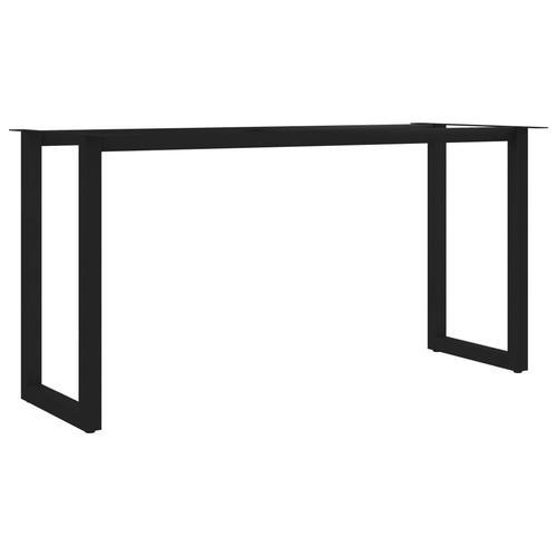 vidaXL Esstischbeine O-Rahmen 160 x 70 x 72 cm
