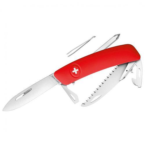 Swiza - Schweizer Messer D06 - Messer Gr 7,5 cm rot