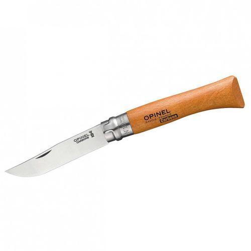 Opinel - Taschenmesser No 10 Carbon - Messer Gr 10 cm buche