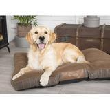Scruffs Windsor Mattress Dog Bed, Chestnut, Large