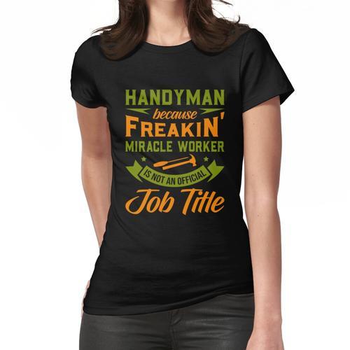 Heimwerker, Heimwerker lustig Frauen T-Shirt