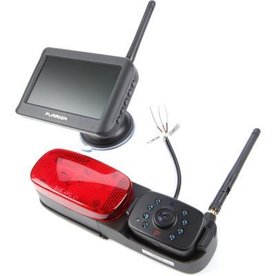 """Furrion Vision S FOS43TASR 4.3"""" Display, Rear Marker/Wireless Cam."""