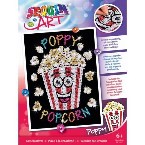 Sequin Art Red - Popcorn