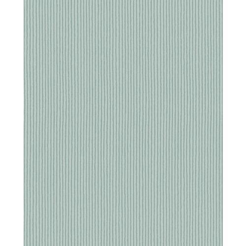Vliestapete Eijffinger MINI ME zum Bemalen, Streifen, grün, 10 m x 52 cm