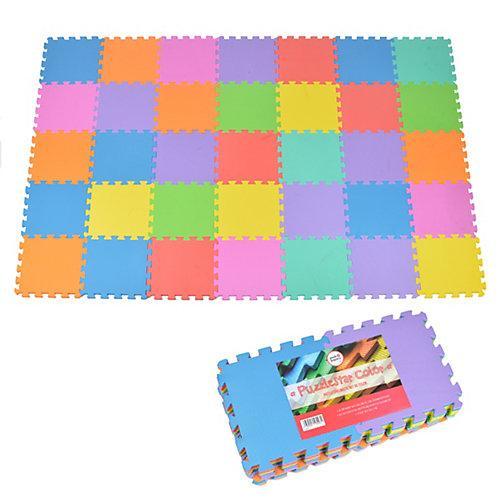 Puzzlematte mit farbigen Matten Puzzlestar Color bunt