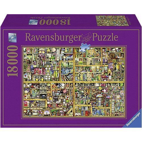 XXL Puzzle 18.000 Teile, 276x192 cm, Colin Thompson: Magisches Bücherregal