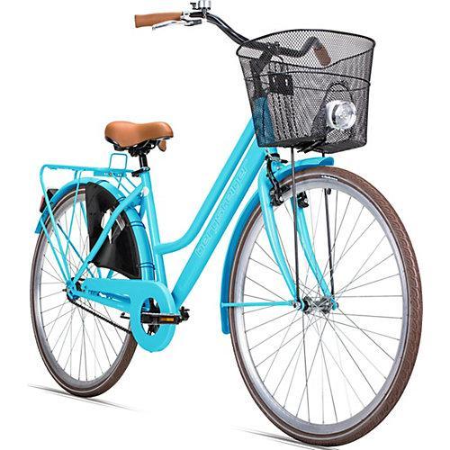 Jugendfahrrad Amsterdam 28 Zoll, blau