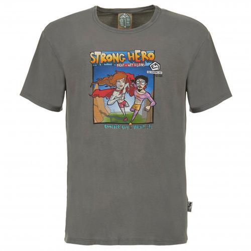 E9 - M Strong Hero - T-Shirt Gr S grau