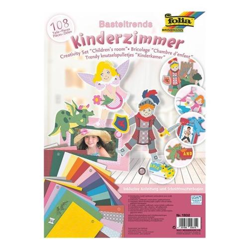 108-tlg. Bastel-Set »Kinderzimmer«, folia