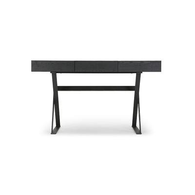 Schreibtisch - Holz & Metal - Schwarz - NV GALLERY - TUXEDO