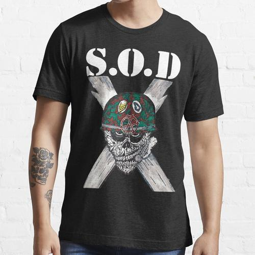 S.O.D (Sturmtruppen des Todes) Essential T-Shirt