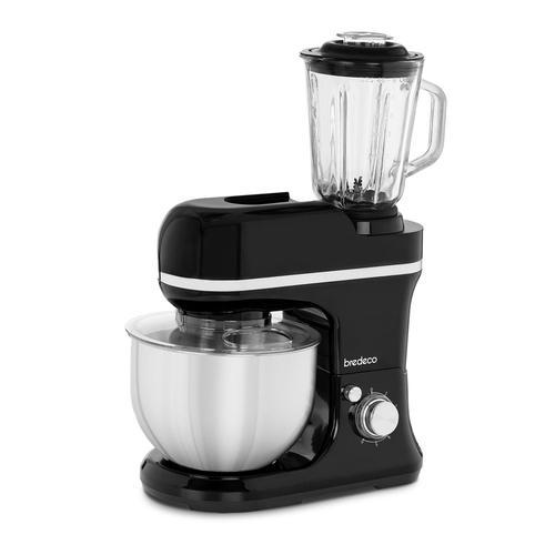bredeco Küchenmaschine - inkl. Mixer - 1.200 W BCPM-1200-PRO