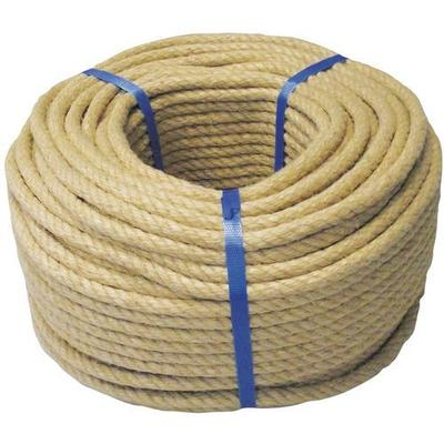 couronne 100m cordage chanvre diametre 6mm ru pture 180 kg
