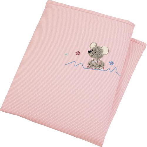 Sterntaler Babydecke Mabel rosa Baby Babydecken Decken