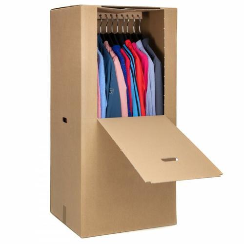 3 Kleider-box Kleiderkarton Kartons Umzugskartons Umzug