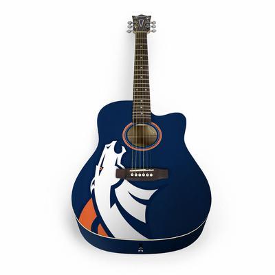 Denver Broncos Woodrow Acoustic Guitar