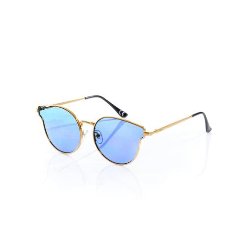 Alba Moda, Sonnenbrille in Cateye-Form, blau