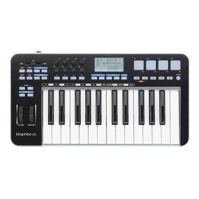Samson Graphite 25-Key Mini Keyboard MIDI USB Controller