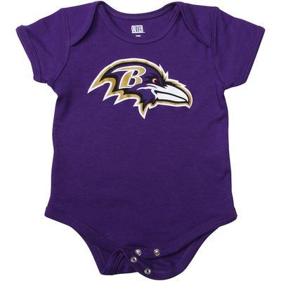 Baltimore Ravens Newborn & Infant Team Logo Bodysuit - Purple