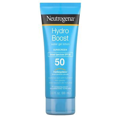 (3 Pack) Neutrogena Hydro Boost Spf50 Water Gel Sunscreen Lotion 3 Ounce