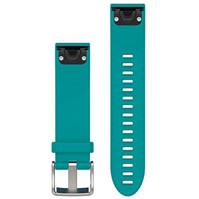 Garmin 010-12491-11 Fenix 5S Quick fit 20 Watch Band - Turquoise Silicone