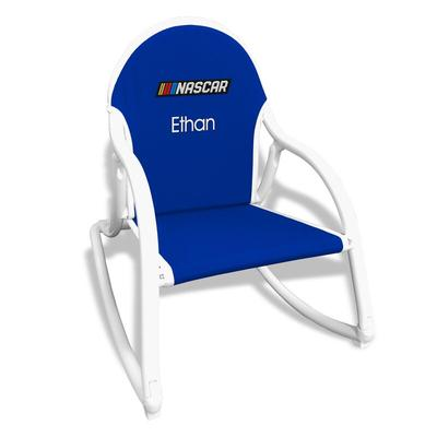 """""""NASCAR Youth Royal Personalized Rocking Chair"""""""
