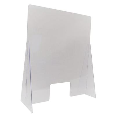 "Nemco 69792-24 Easy Shield? Countertop Safety Shield - 24"" x 14"" x 42"", Polycarbonate"