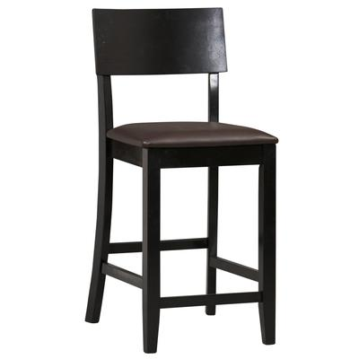 Thayer 24 in Contemporary Counter Stool by BrylaneHome in Black