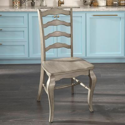 Mountain Lodge Bar Pair of Chairs by Homestyles in Multi Gray