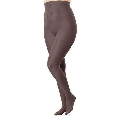 Plus Size Women's 2-Pack Sheer Tights by Comfort Choice in Dark Coffee (Size C/D)
