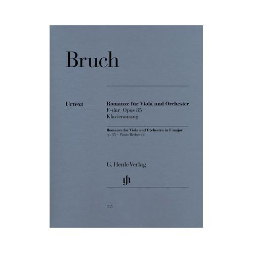 Henle Verlag Bruch Romanze F-Dur Viola