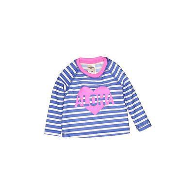 OshKosh B'gosh Wetsuit: Blue Stripes Sporting & Activewear - Size 0-3 Month
