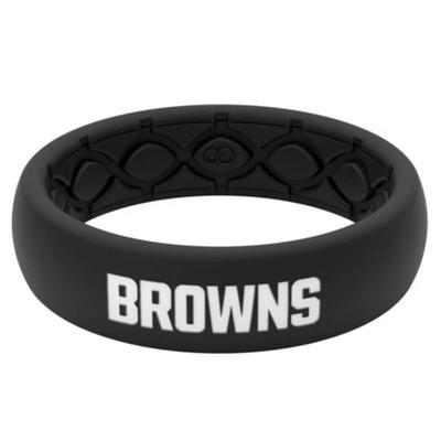 Cleveland Browns Groove Life Thin Ring