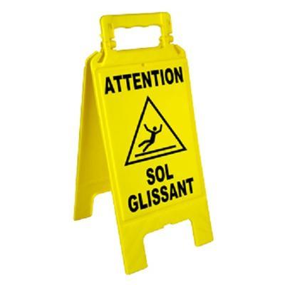 Chevalet de signalisation ''Sol glissant'' 600x275 mm - NOVAP - 4291000