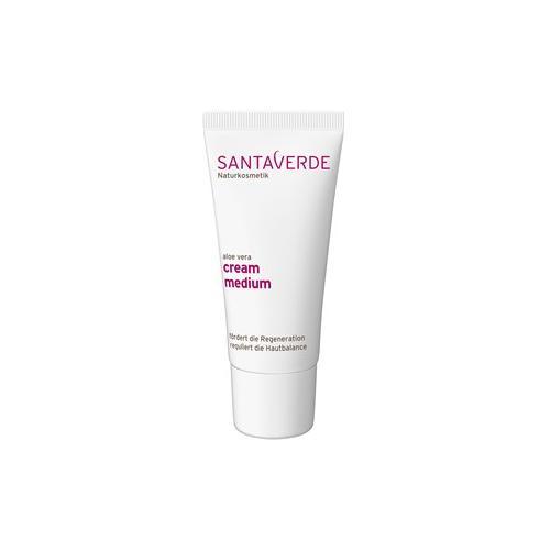 Santaverde Pflege Gesichtspflege Aloe Vera Cream Medium 30 ml