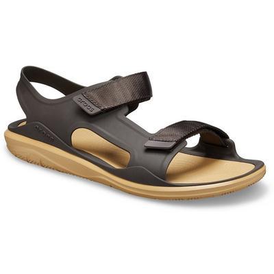 Crocs Espresso / Tan Men's Swiftwater™ Expedition Sandal Shoes