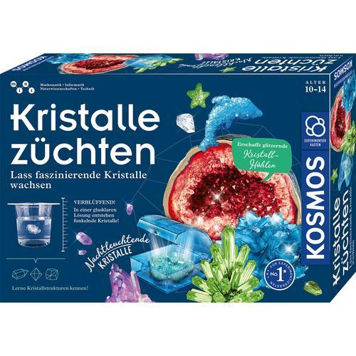 Kosmos Experimentierkasten Kristalle züchten, Made in Germany mehrfarbig Kinder Ab 6-8 Jahren Altersempfehlung