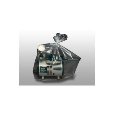 "LK Packaging BOR20F-2024 Medical Equipment Cover for Concentrators & Ventilators - 24"" x 20"", Polyethylene, Clear"