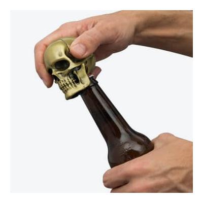 Iron and Glory - Crack One Open Skull Bottle Opener